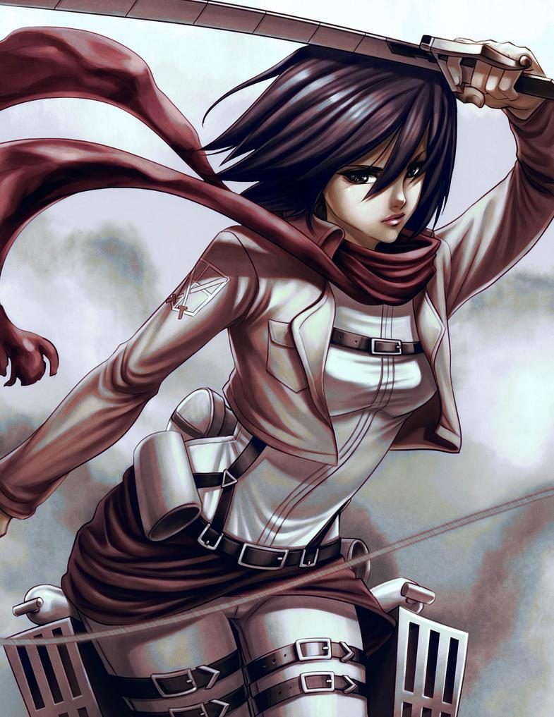 Mikasa by Shaiyan