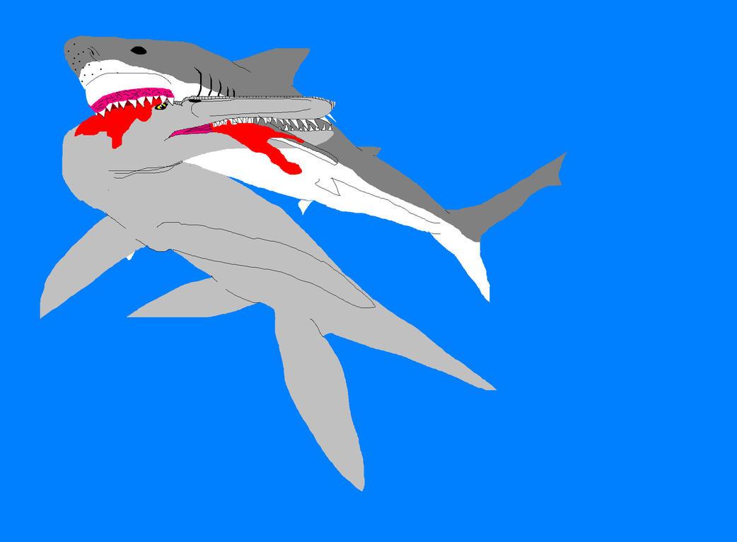 MEG vs  Liopleurodon 2...