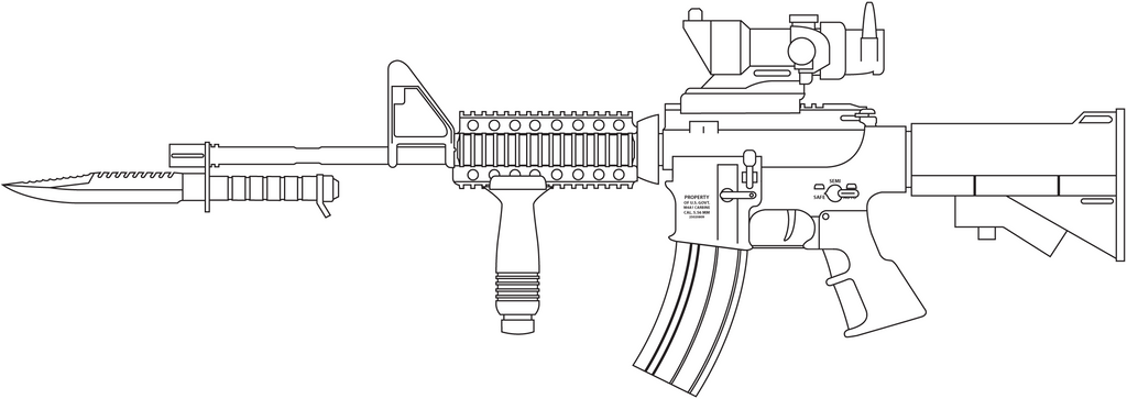 m4a1 carbine revamp by madbird