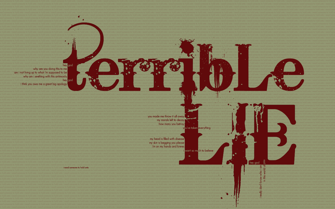 A song (or two) per day: Terrible lie - Nine inch nails