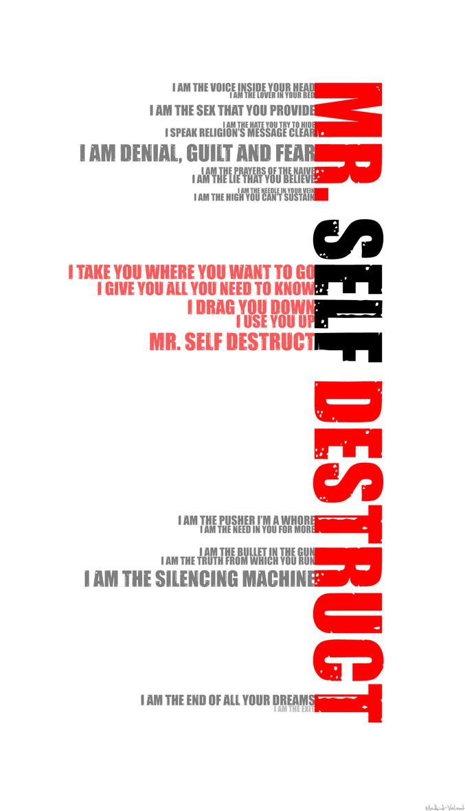 The Art Of Self Destruction By Madbird Valiant On Deviantart