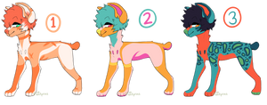 cheap unatural color adopts open