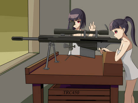 Twins sniper action