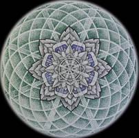 Geometric dotwork I 2011 by VillKat-Arts