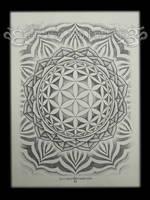 Flower of Life Mandala 2012 by VillKat-Arts