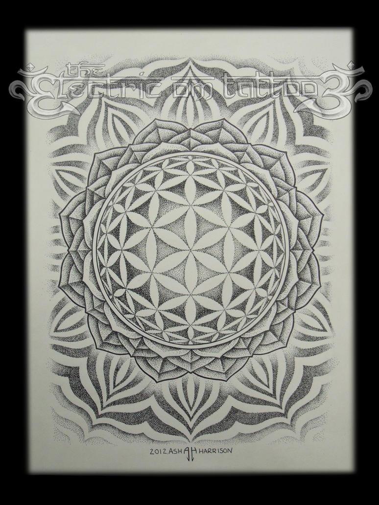 Flower Of Life Mandala 2012 By Villkat Arts On Deviantart