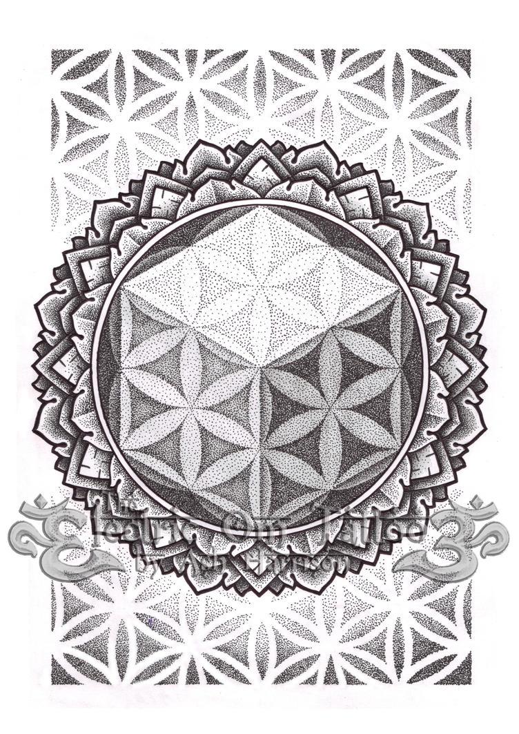 Hexahedron Of Life 2012 By VillKat Arts
