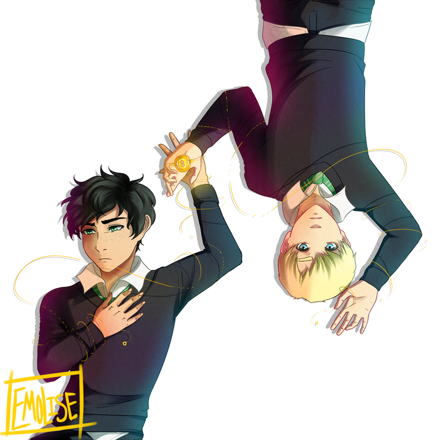 Albus and Scorpius by Emolise