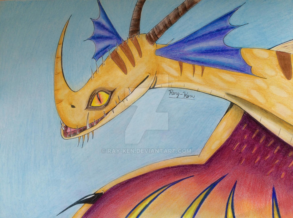 Death Song Dragon Coloring Page