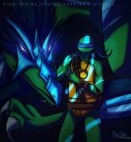 Leonardo- Dragon Tribunal (+ Speedpaint) by Ray-Ken