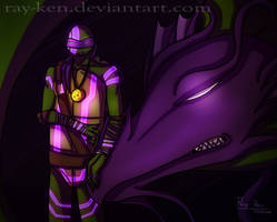 Donatello- Dragon Tribunal (+ Speedpaint) by Ray-Ken