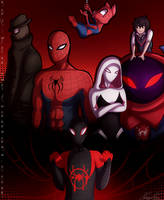 Into the Spider Verse by Ray-Ken