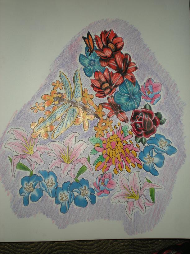 Die Blumen - dragonfly tattoo