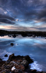 Blue lagoon sunrise 3