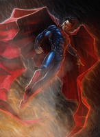 Man of Steel by Harshcore
