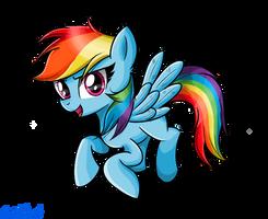 Rainbow dash my style by nickdallas