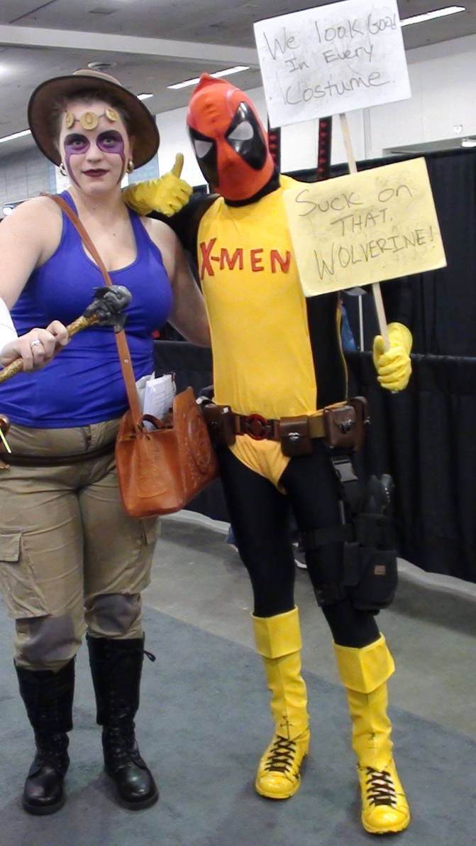 Deadpool and Person
