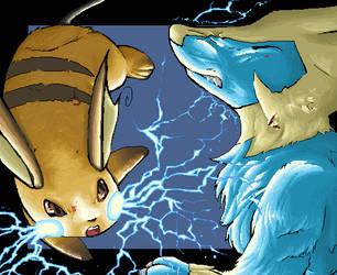 Thunderboooooooolt D: by teraphim