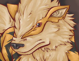 Arcanine by teraphim