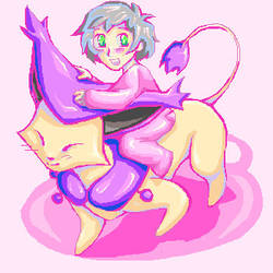 Ride on Delcatty by teraphim