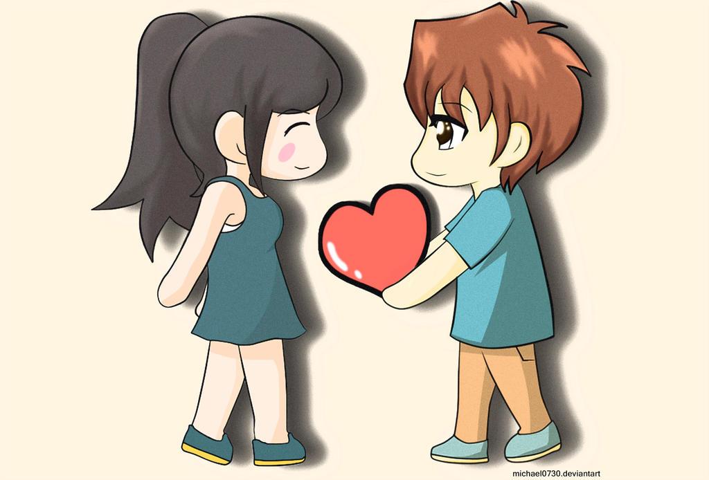 Chibi Love by SasoriScorpion on DeviantArt  |Chibi Love Anime