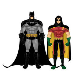 Arkham City - Dynamic Duo by batman-brucewayne