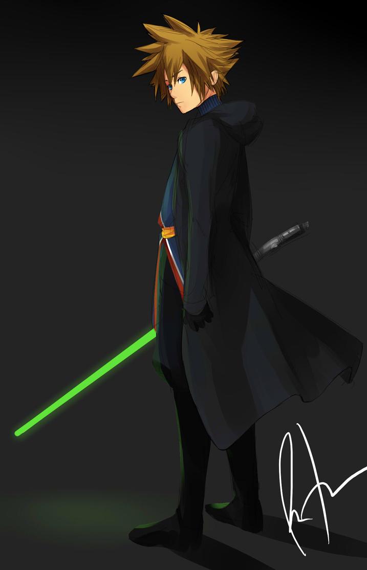 Jedi Sora by Kagekara-Soul