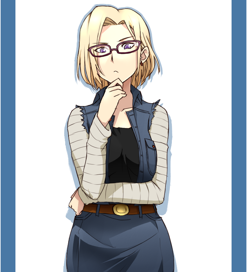 Android 18 And Tail Deviantart: Android 18 X Ai-megane No. 17 By Kagekara-Soul On