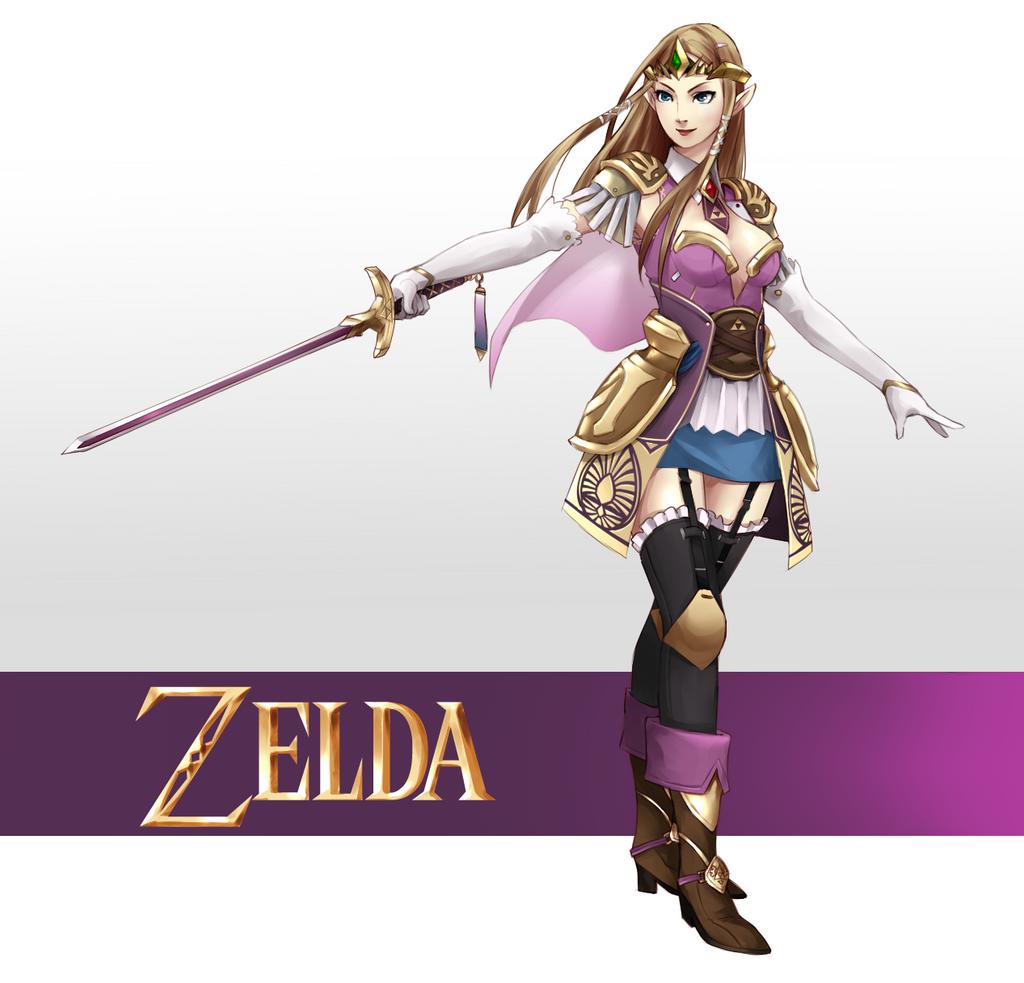 Legend of zelda princess zelda by kagekara soul on - La princesse zelda ...