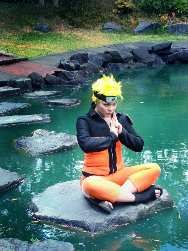 Naruto Cosplay - Meditation by Tsubaki-chan