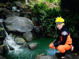 Naruto Cosplay - Waterfall by Tsubaki-chan