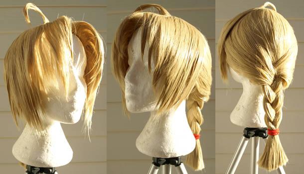 Edward Elric Cosplay Wig