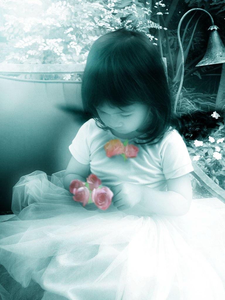 Flower Girl 04 by Tsubaki-chan