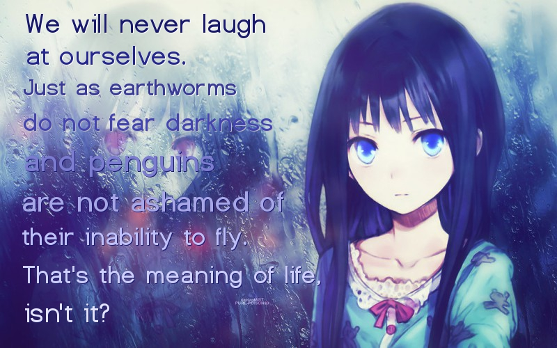 Anime Quotes About Friendship Brilliant Anime Quote 446Animequotes On Deviantart