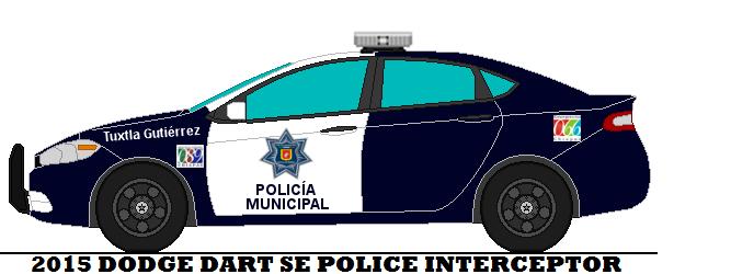 dodge dart tuxtla gutierrez municipal police by. Black Bedroom Furniture Sets. Home Design Ideas