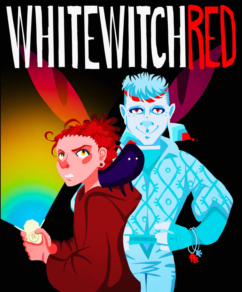 WHITEWITCH RED by StoneByrd