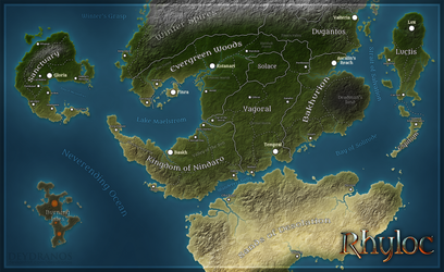 Project Rhyloc - Map