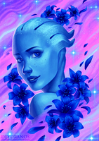 Mass Effect - Liara