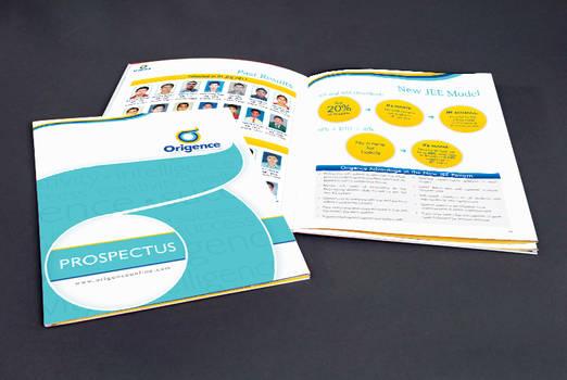 Origence Brochure copy