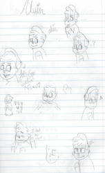 old sketches.... by francisbonnfwa