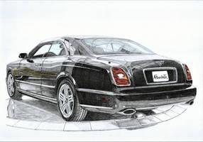 Bentley Brooklands 3/3 by PaperGarage