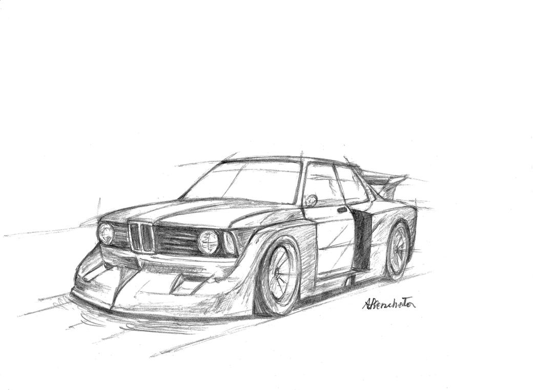 BMW 3 E21 320 Turbo Group 5 by PaperGarage
