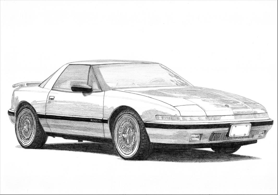 Buick Reatta 2/3 by PaperGarage