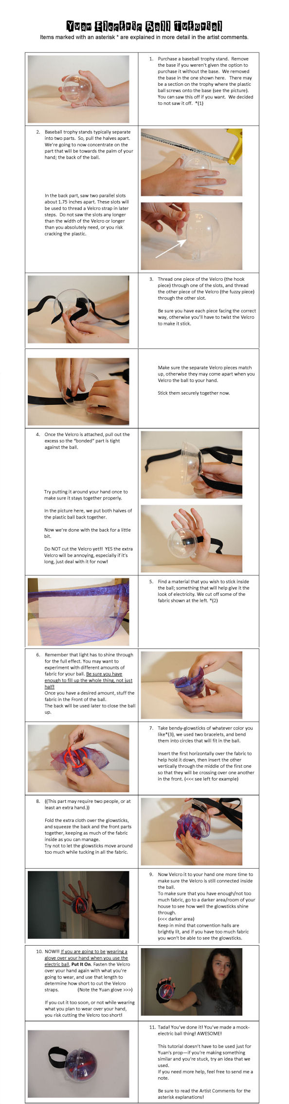 Electricity-Ball Tutorial