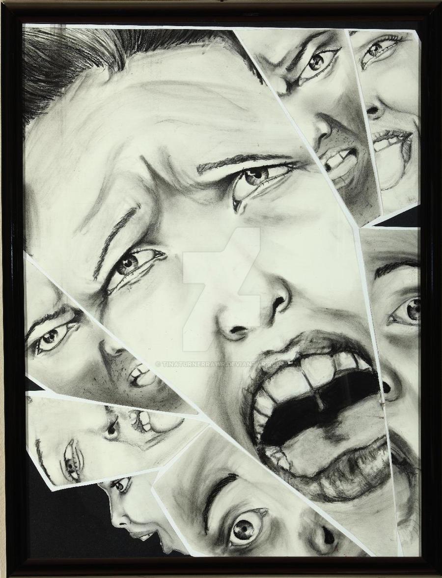 Broken Mirror of Expressions by tinaturnerrawr on DeviantArt