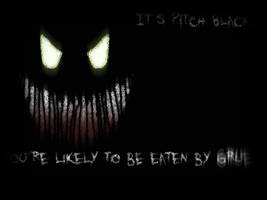 It's Pitch Black by martyk7