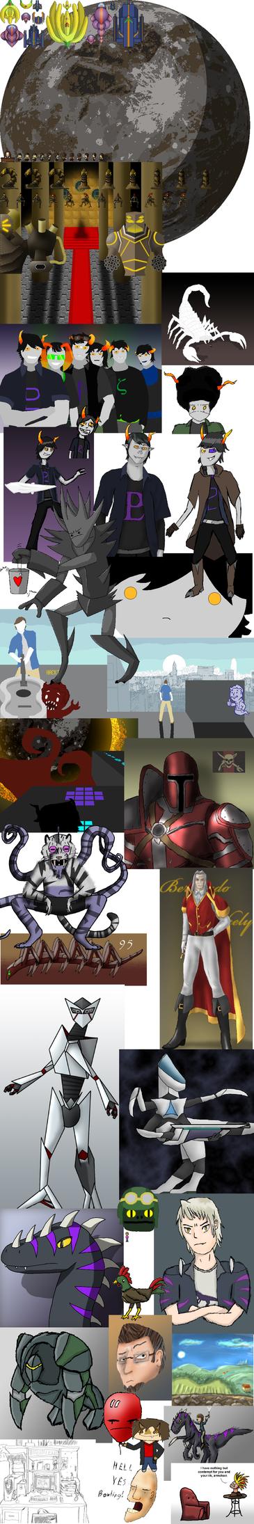 Mighty Art Dump by martyk7