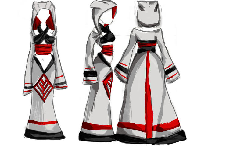 Qunari Female Robe Concept By Ladykdragon On Deviantart
