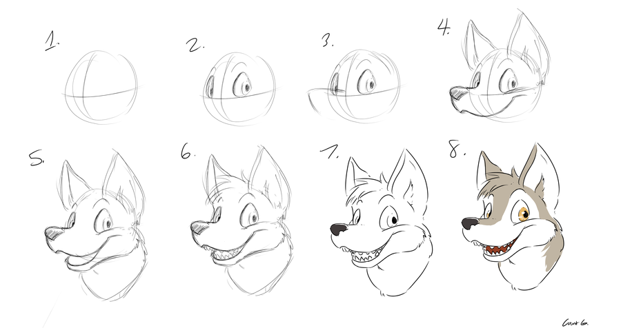 How To Draw Furry Snouts
