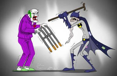 Batman VS Joker forever by Epantiras